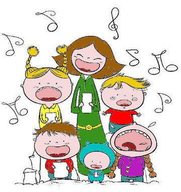 Chorale De Noël Clip Art Libres De Droits , Vecteurs Et Illustration. Image  47683495.